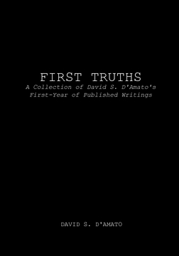First Truths
