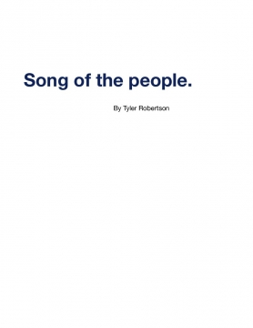 Song of the people