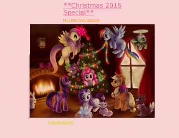 Christmas 2015 Special** My Little Pony