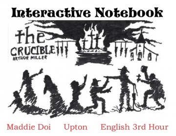 The Crucible- Interactive Notebook
