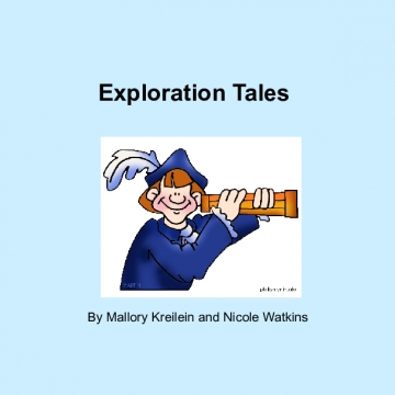 Exploration Tales