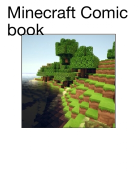 Minecraft Comic book