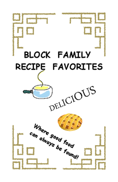 BLOCK FAMILY RECIPE FAVORITES