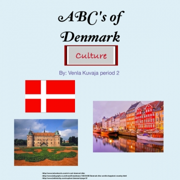 ABC's of Denmark- Culture