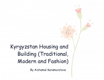Housing and Building (Traditional, Modern and Fashion)