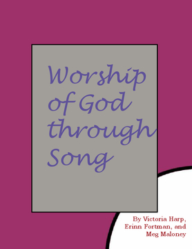 Worship of God through Song
