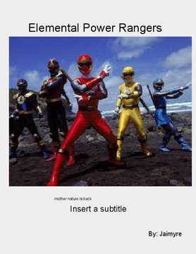 Elemental Power Rangers