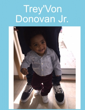 Trey'Von Donovan Jr. Baby Book