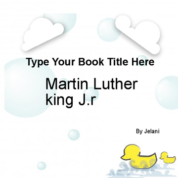 Martin luther king J.r.