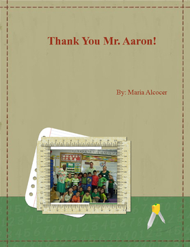 Thank You Mr. Aaron!