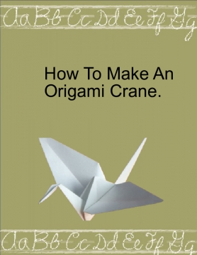 How to Origami