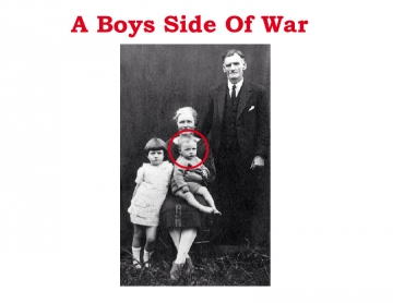 A boys side of the war.