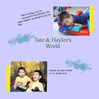 Tate & Haylee 's World