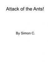 the attack of the ants from space
