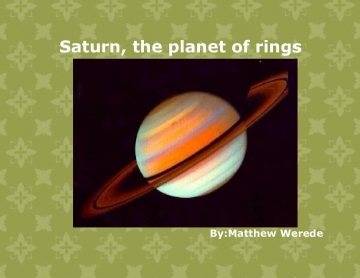 Saturn, the planet of rings
