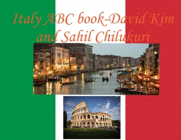 Italy ABC culture Book