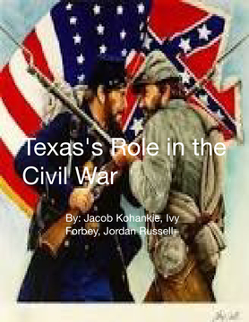 Texas's Role in the Civil War