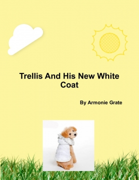 Trellis And His New White Coat