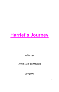 Harriet's Journey