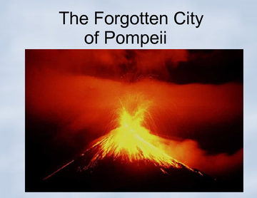 The Forgotten City of Pompeii, Italy