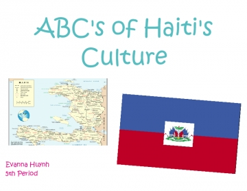 ABC Culture Book of Haiti