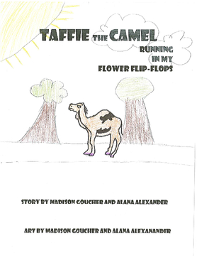 Taffie and Camel Running in my Flip-Flops