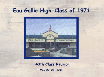 Eau Gallie High 40th Reunion