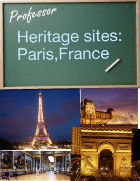 Heritage sites: Paris