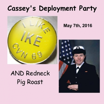 Cassey's Deployment Party & Redneck Pig Roast