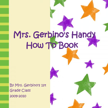 Mrs. Gerbino's Handy How To Book