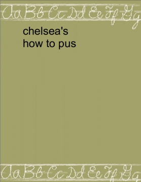 Chelsea's how to pursue your life long goal to an actor