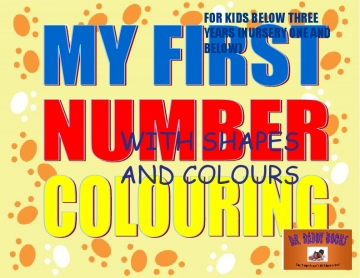 MY FIRST NUMBER COLOURING