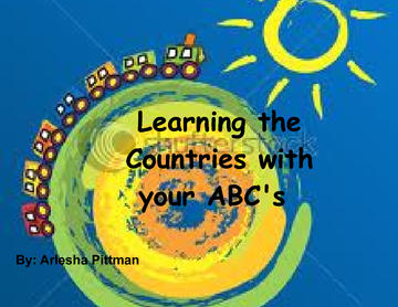 Learning the Countries with your ABC's