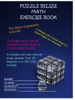 PUZZLE BELIZE EXERCISE BOOK