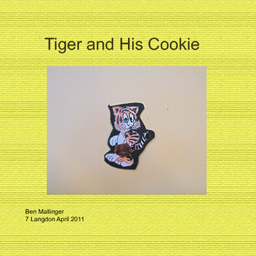 Tiger and His Cookie