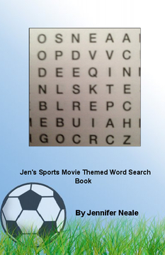 Jen's Sports Movie Themed Word Search Book