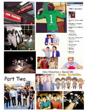Living The Life With One Direction . Part Two . ♥