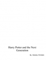 Harry Potter and the Next Generation