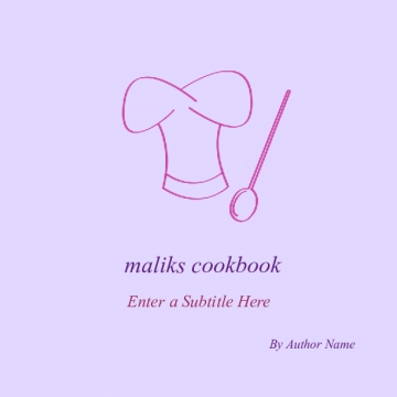 maliks cookbook
