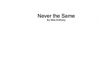 Never the Same