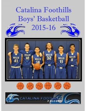 CFHS Boys Basketball 2015-16