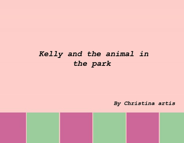 Kelly and the pets in the park