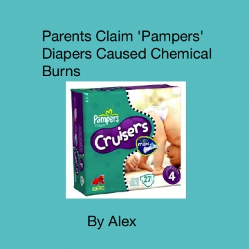 Parents Claim 'Pampers' Diapers Caused Chemical Burns