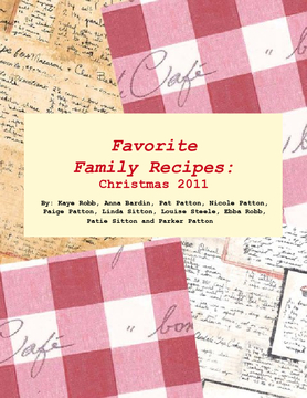 Favorite Family Recipes