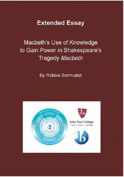 "Macbeth's Use of Knowledge to Gain Power in Shakespeare's Tragedy ""Macbeth""."