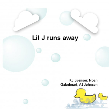 Lil J runs away