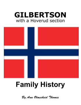 GILBERTSON Family History