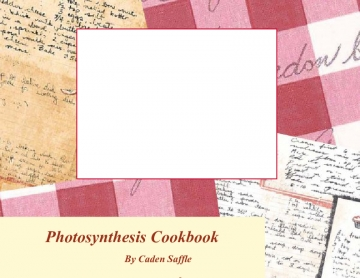 Photosynthesis Cookbook