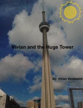 Vivian and the huge tower