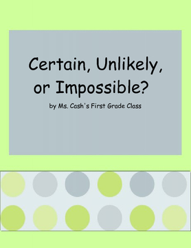 Certain, Unlikely, or Impossible?